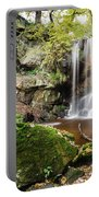 Waterfall At Roughting Linn Portable Battery Charger