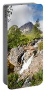 Waterfall Below Stob Dearg Portable Battery Charger