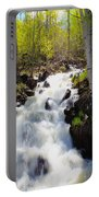 Waterfall By The Aspens Portable Battery Charger