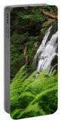 Waterfall Fern Square Portable Battery Charger