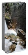 Waterfall Flume Gorge - Nh Portable Battery Charger