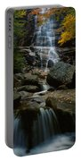 Waterfall In A Forest, Arethusa Falls Portable Battery Charger