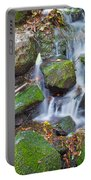 Waterfall In Marlay Park Portable Battery Charger