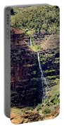 Waterfall In The Valley Portable Battery Charger