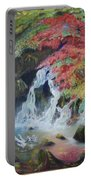 Japanese Waterfall Portable Battery Charger