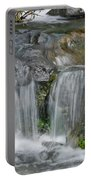 Waterfall On The Paradise River Portable Battery Charger