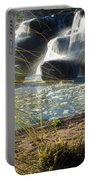 Waterfall Sunset Portable Battery Charger