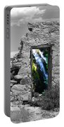 Waterfall Through The Magic Door Portable Battery Charger