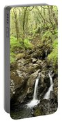 Waterfall Through Woodland Portable Battery Charger