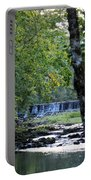Waterfalls At Dusk 2012 Portable Battery Charger