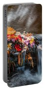 Waterfalls Childs National Park Painted    Portable Battery Charger