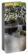 Waterfalls In Marlay Park Portable Battery Charger