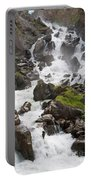 waterfalls in Pre Saint Didier Portable Battery Charger