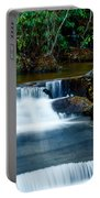 Waterfalls Of Carreck Creek Portable Battery Charger