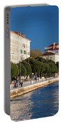 Waterfront Promenade In Zadar Portable Battery Charger