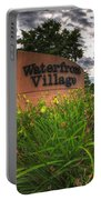 Waterfront Village Portable Battery Charger