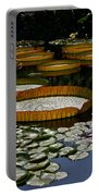Waterlilies All Portable Battery Charger