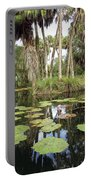 Waterlilies Garden Portable Battery Charger