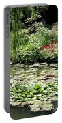 Waterlily Pond Giverney Portable Battery Charger