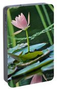 Waterlily Whimsy Portable Battery Charger