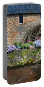 Waterwheel In Brittany Portable Battery Charger