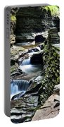 Watkins Glen State Park Portable Battery Charger by Frozen in Time Fine Art Photography