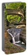 Watkins Glen Waterfalls Portable Battery Charger