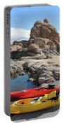 Watson Lake Portable Battery Charger by Diane Greco-Lesser