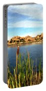 Watson Lake Portable Battery Charger by Kurt Van Wagner