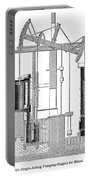 Watts Steam Engine, 1769 Portable Battery Charger