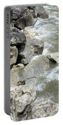 Waves And Rocks 6 Portable Battery Charger