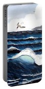 Waves And Tern Portable Battery Charger