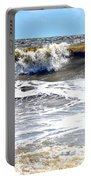 Waves At Tybee Portable Battery Charger