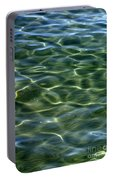 Waves On Lake Tahoe Portable Battery Charger