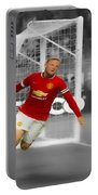 Wayne Rooney Scores Again Portable Battery Charger