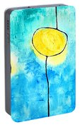 We Make A Family - Abstract Art By Sharon Cummings Portable Battery Charger