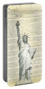 We The People Portable Battery Charger