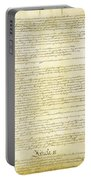 We The People Constitution Page 2 Portable Battery Charger