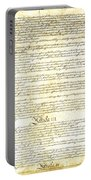 We The People Constitution Page 3 Portable Battery Charger