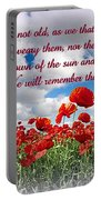 We Will Remember Them... Portable Battery Charger