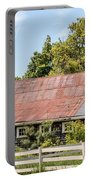 Weathered Barn Portable Battery Charger