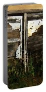 Weathered In Weeds Portable Battery Charger