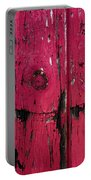 Weathered Red Portable Battery Charger