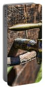 Weathered Tap And Barrel Portable Battery Charger by Paul Ward
