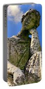 Weathered Woman Portable Battery Charger