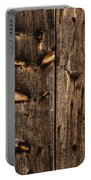 Weathered Wooden Abstracts - 3 Portable Battery Charger
