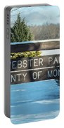 Webster Park Sign Portable Battery Charger