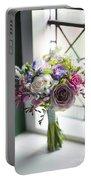 Wedding Bouquet Near A Window Portable Battery Charger
