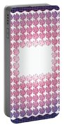 Wedding Guest Book Shamrock Shapes 3 Portable Battery Charger