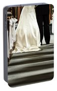 Wedding In Church Portable Battery Charger